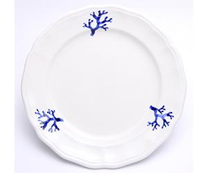 ブルー サンゴのお皿 アンナルーマ お皿 パスタ